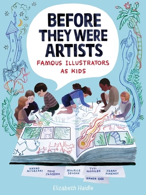 Before They Were Artists: Famous Illustrators as Kids Cover Image