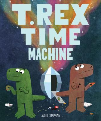T. Rex Time Machine Cover Image