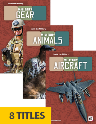 Inside the Military (Set of 8) Cover Image