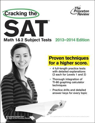 Cracking the SAT Math 1 & 2 Subject Tests Cover