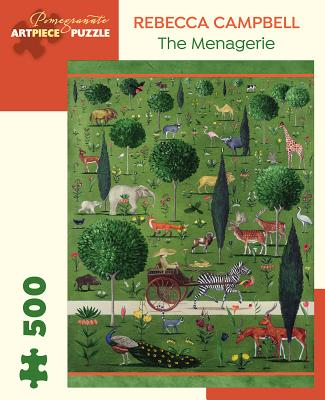 Rebecca Campbell the Menagerie 500 Piece Jigsaw Puzzle Cover Image