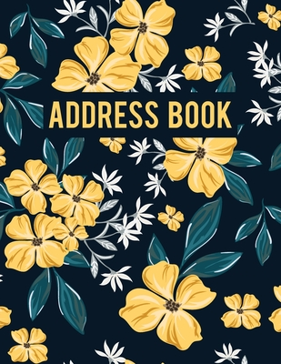 Address Book for Women: Alphabetical Contact Notebook and Organizer Over 400+ for Record and Track Cover Image
