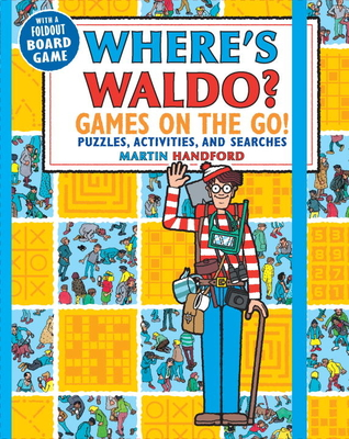Where's Waldo? Games on the Go!: Puzzles, Activities, and Searches Cover Image