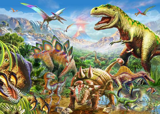 Puzzle Dinosaur World Cover Image
