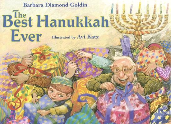 The Best Hanukkah Ever Cover