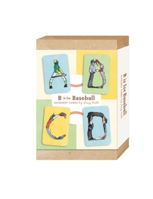 B Is for Baseball Cover