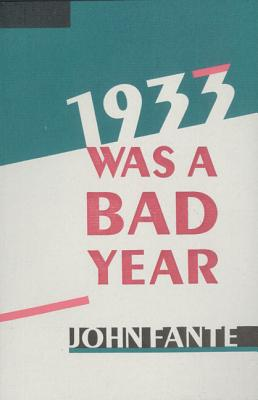 1933 Was a Bad Year Cover