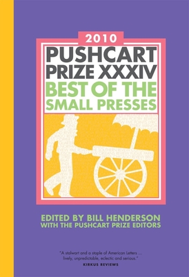 The Pushcart Prize XXXIV Cover