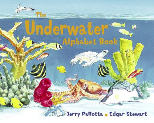 Underwater alphabe book