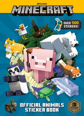 Minecraft Official Animals Sticker Book (Minecraft) Cover Image