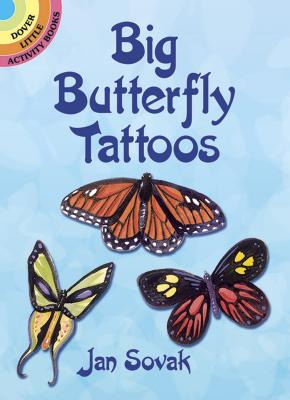 Big Butterfly Tattoos (Temporary Tattoos) Cover Image