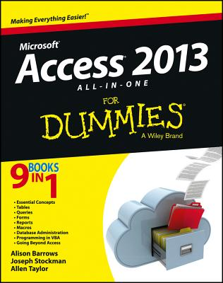 Access 2013 All-In-One for Dummies cover
