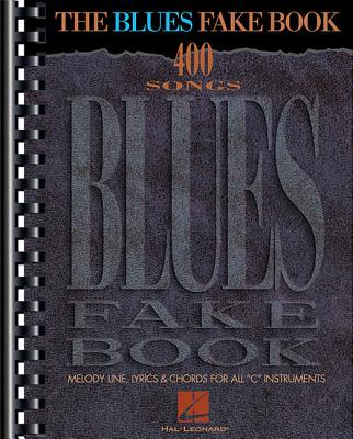 The Blues Fake Book Cover Image