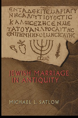 Jewish Marriage in Antiquity Cover