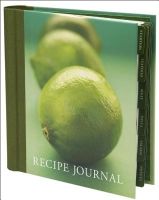 Recipe Journal - Lime Cover