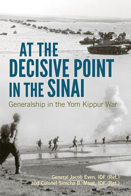 Cover for At the Decisive Point in the Sinai
