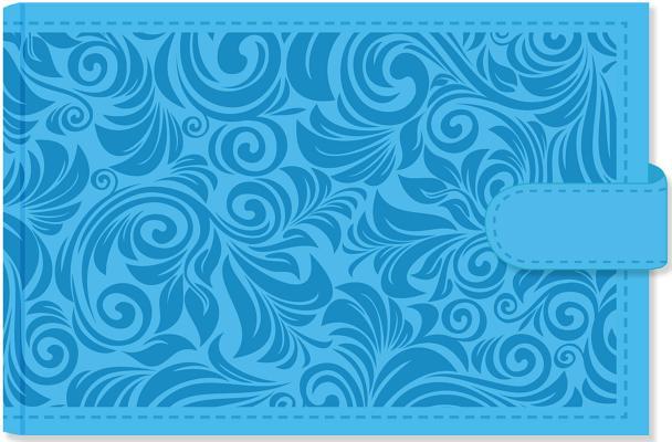 Sky Blue Photo Album Cover Image