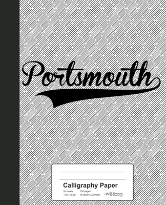 Calligraphy Paper: PORTSMOUTH Notebook Cover Image