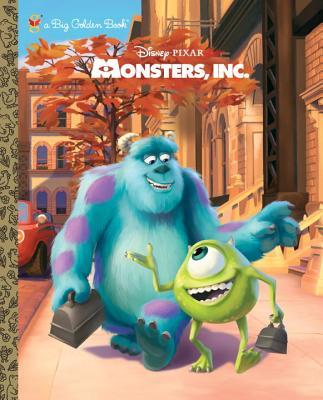 Monsters, Inc. Big Golden Book (Disney/Pixar Monsters, Inc.) Cover Image