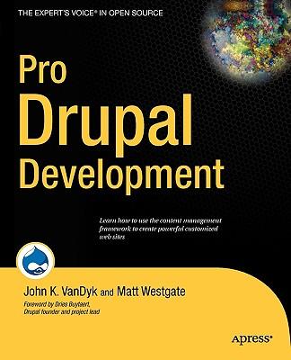 Cover for Pro Drupal Development