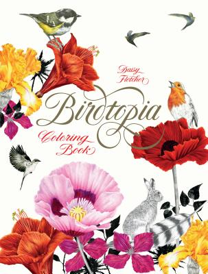 Birdtopia: Coloring Book Cover Image
