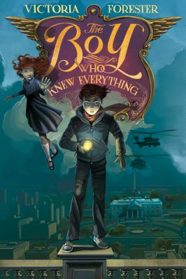 The Boy Who Knew Everything (Piper McCloud #2) Cover Image
