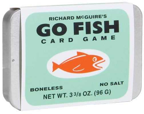 Richard McGuire's Go Fish Card Game Cover Image