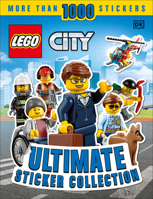 Ultimate Sticker Collection: LEGO CITY Cover Image