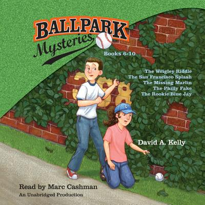 Cover for Ballpark Mysteries Collection