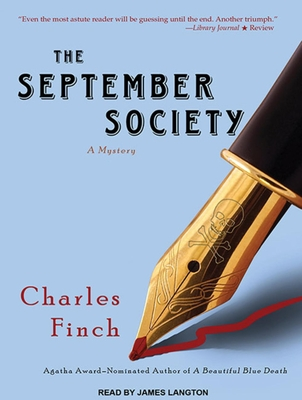 The September Society (Charles Lenox Mysteries #2) Cover Image