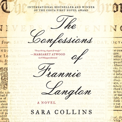 The Confessions of Frannie Langton Lib/E Cover Image