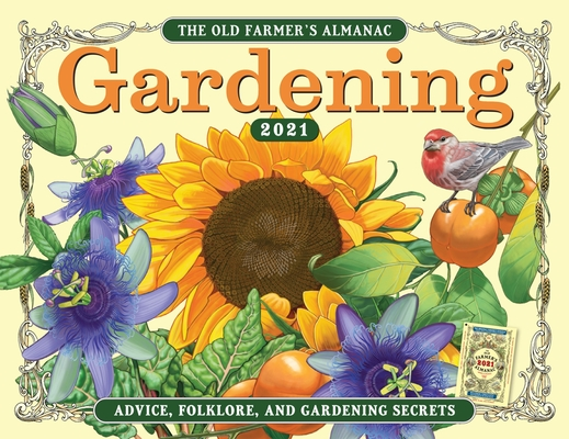 The 2021 Old Farmer's Almanac Gardening Calendar Cover Image