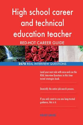High school career and technical education teacher RED-HOT Career; 2578 REAL Int Cover Image