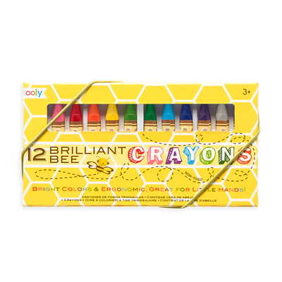 Brilliant Bee Crayons - Set of 12 Cover Image