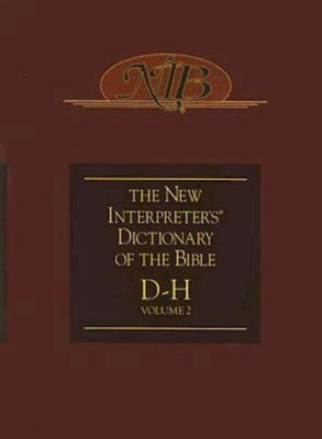 The New Interpreter's Dictionary of the Bible, Volume 2 Cover