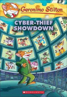 Cyber-Thief Showdown (Geronimo Stilton #68) Cover Image