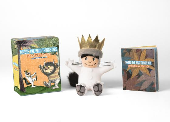 Where the Wild Things Are: Max Plush Toy and Sticker Book (RP Minis) Cover Image