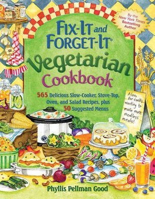 Fix-It and Forget-It Vegetarian Cookbook Cover