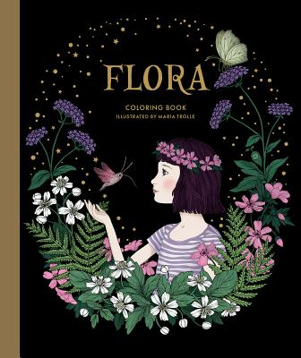 Flora Coloring Book Cover Image