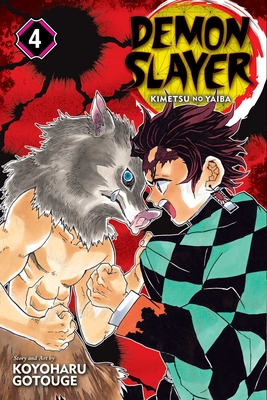 Demon Slayer: Kimetsu no Yaiba, Vol. 4 Cover Image
