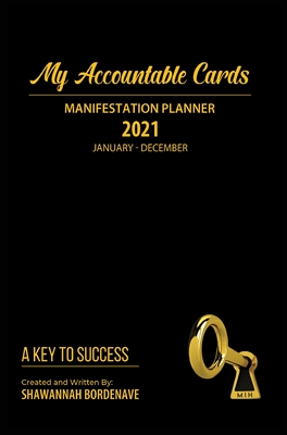 My Accountable Cards Manifestation Planner: A Key to Success Cover Image