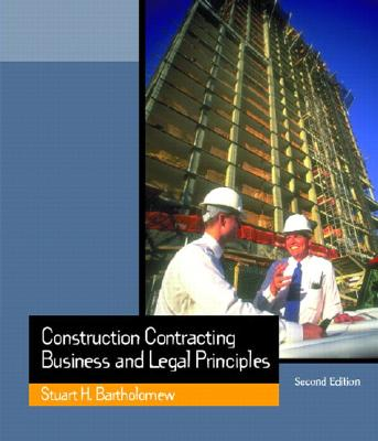 Construction Contracting: Business and Legal Principles Cover Image