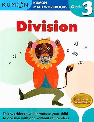 Division Grade 3 (Kumon Math Workbooks) Cover Image
