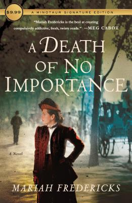 A Death of No Importance: A Novel (A Jane Prescott Novel #1) Cover Image