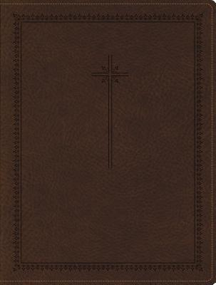 NIV, Journal the Word Bible, Imitation Leather, Brown: Reflect, Journal, or Create Art Next to Your Favorite Verses Cover Image
