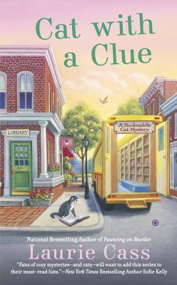 Cat With a Clue (A Bookmobile Cat Mystery #5) Cover Image