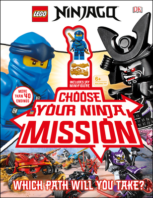 LEGO NINJAGO Choose Your Ninja Mission: With NINJAGO Jay minifigure Cover Image