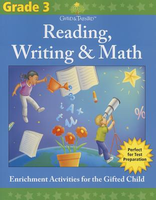Gifted & Talented: Reading, Writing & Math, Grade 3 Cover Image