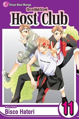 Ouran High School Host Club, Volume 11 Cover