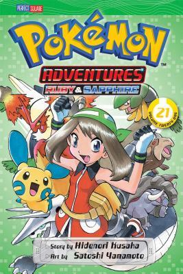 Pokemon Adventures, Vol. 21 Cover